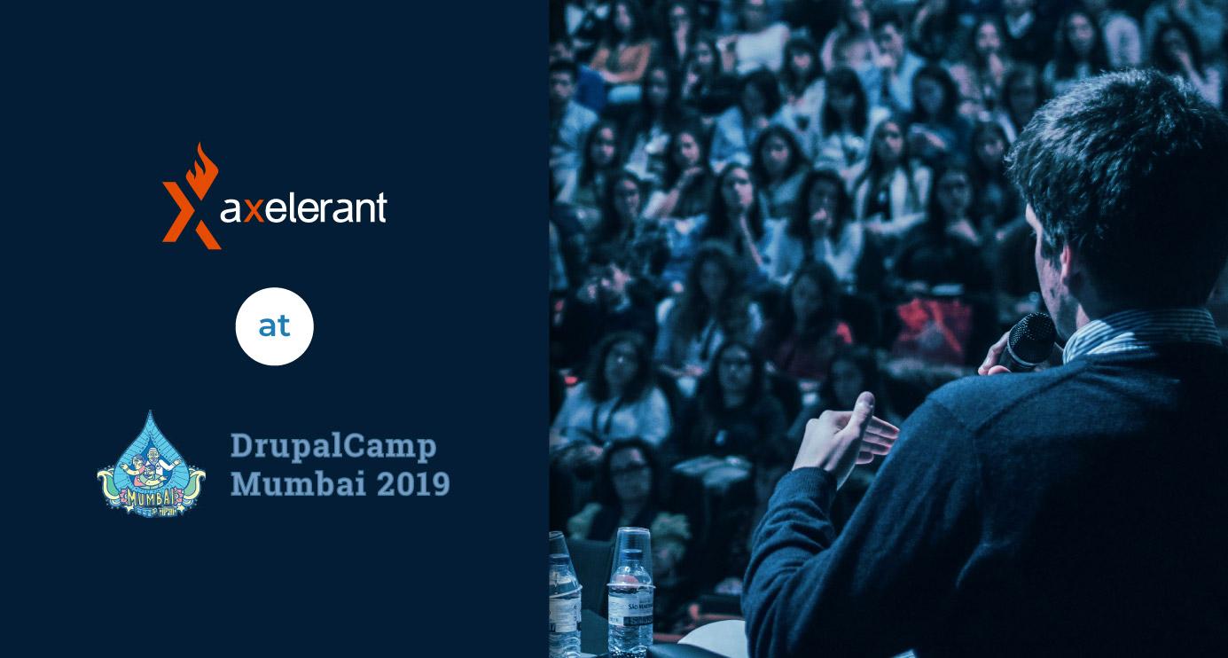 Axelerant At DrupalCamp Mumbai 2019