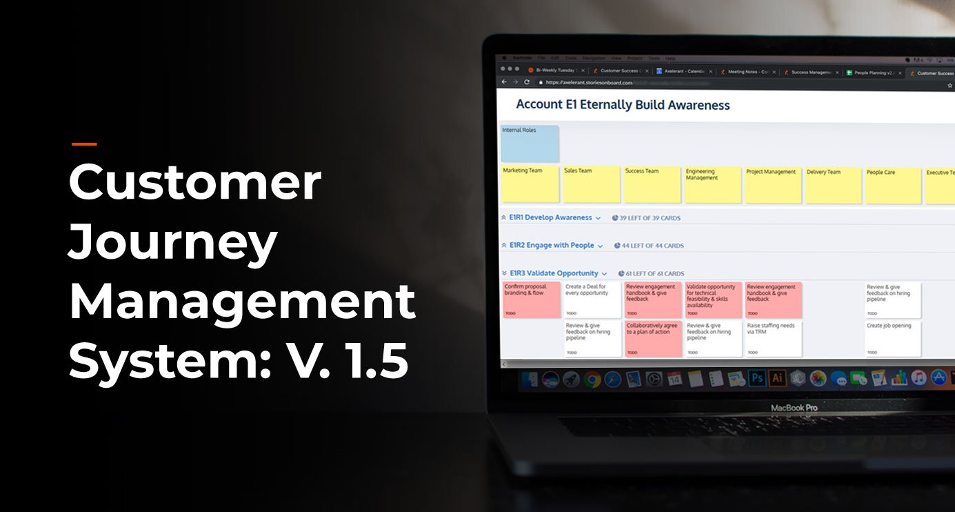 Axelerant's Customer Journey Management System: Version 1.5