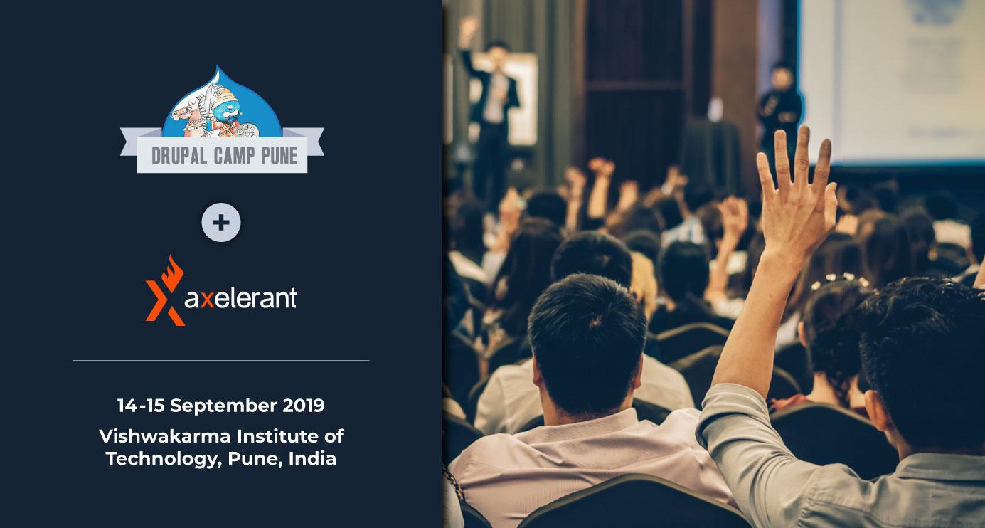 Axelerant At DrupalCamp Pune 2019