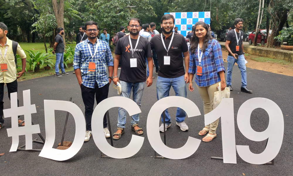 Team Axelerant at DrupalCamp Chennai