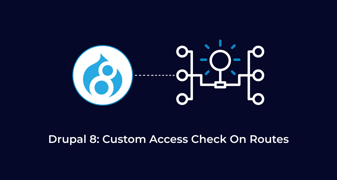 Custom Access Check on Routes in Drupal 8