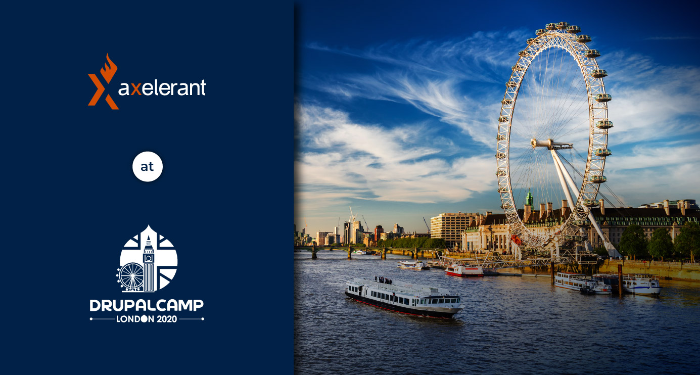 Axelerant at DrupalCamp London 2020
