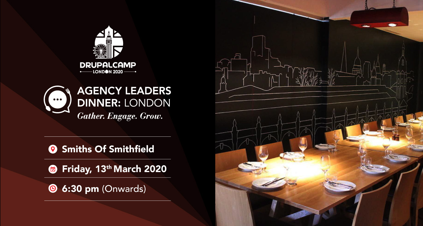 Join Us At The Agency Leaders Dinner 2020 In London