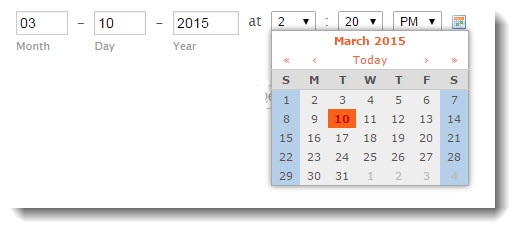 QA Checklist For Testing Advanced Front End Elements - Date and Time Picker