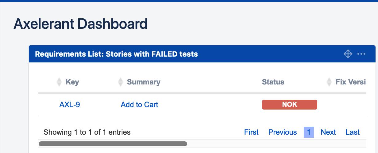 screenshot of Jira board