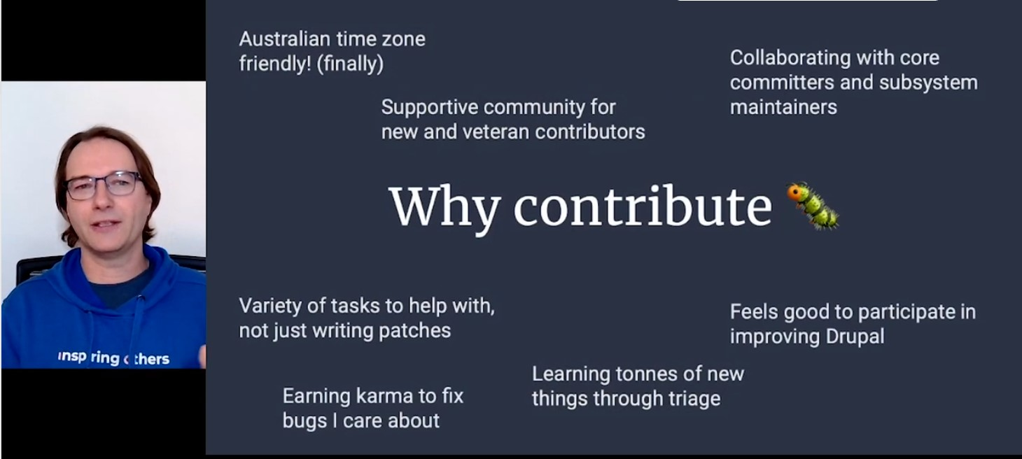 Why contribute, reasons
