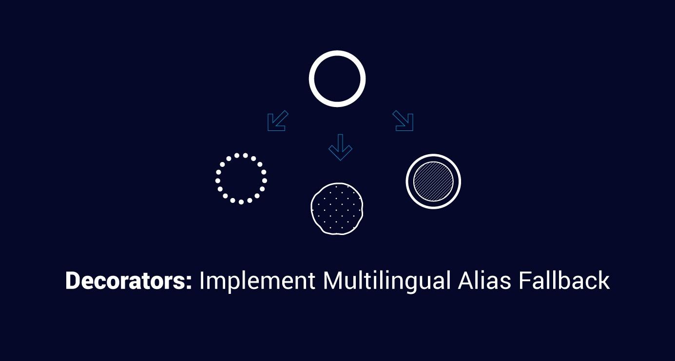 Decorators: Implement multilingual alias fallback