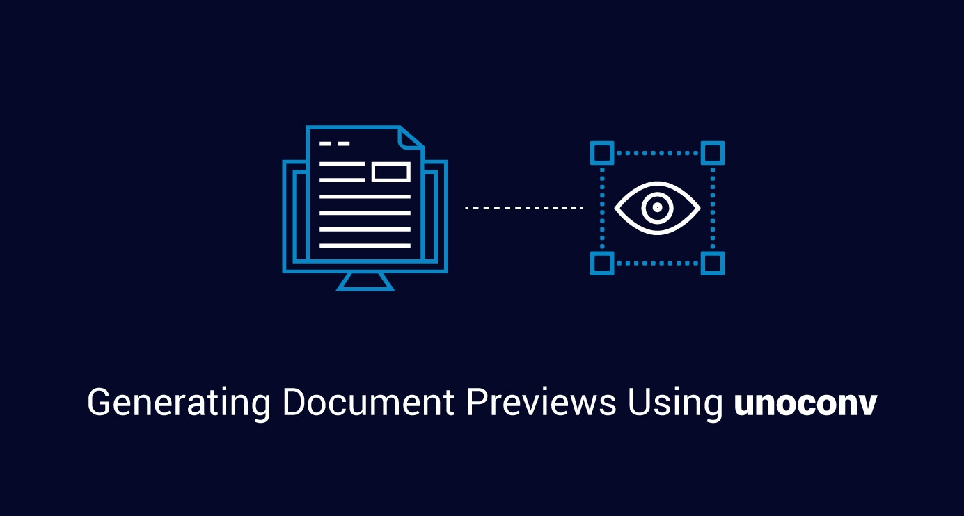 Generating Document Previews Using unoconv
